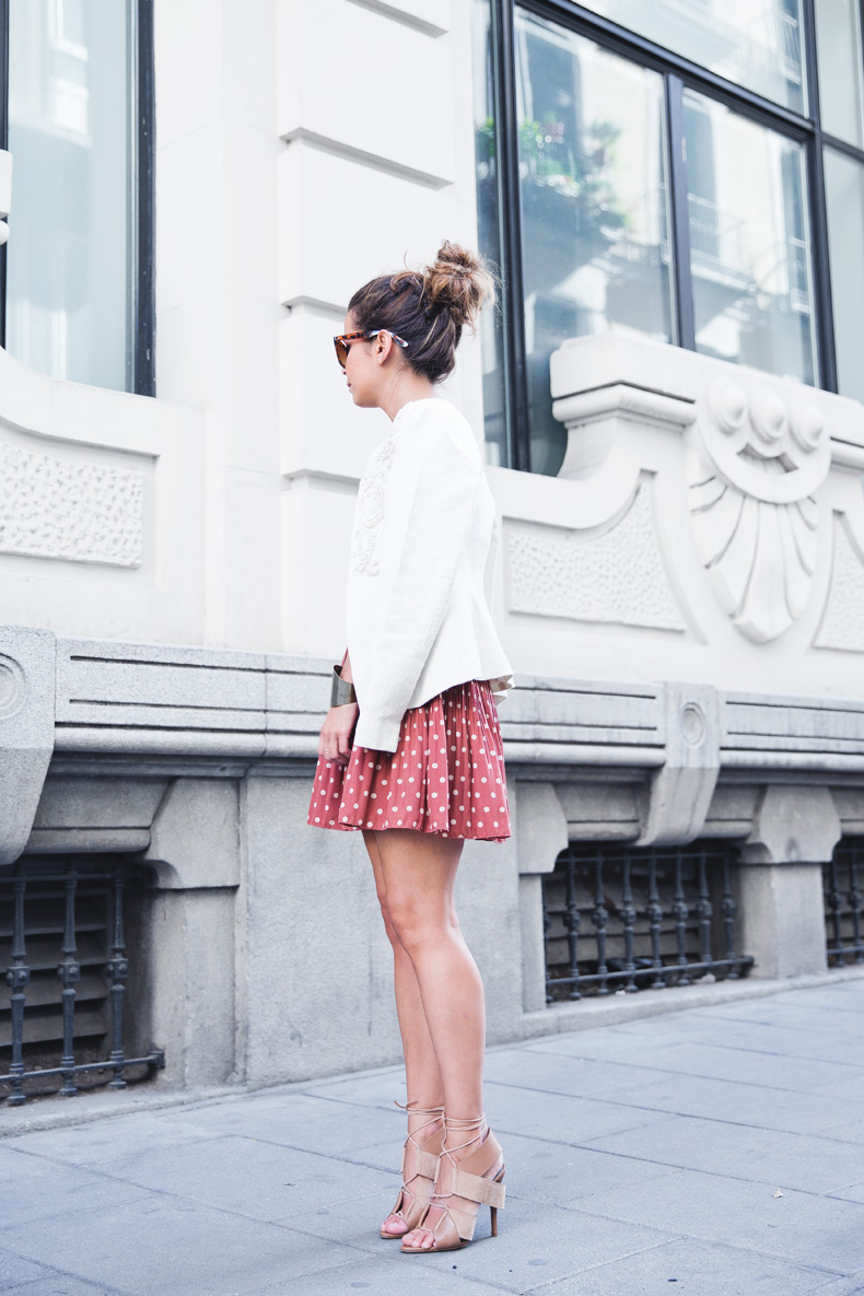 Embroidered_Jacket-Twin_Set-Polka_Dots_Skirt-Alexander_Wang_Sandals-Outfit-Street_Style-15
