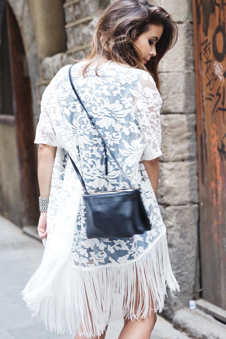 Kimono collage vintage - Bershka en londres ...