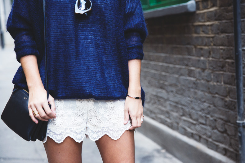 Lace_Shorts-Lace_Up_Sandals-Blue_Jumper-Outfit-21