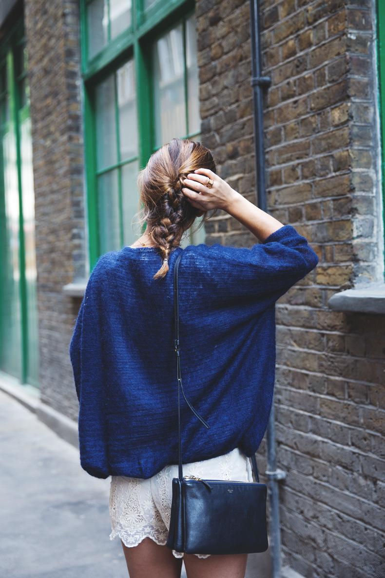 Lace_Shorts-Lace_Up_Sandals-Blue_Jumper-Outfit-6