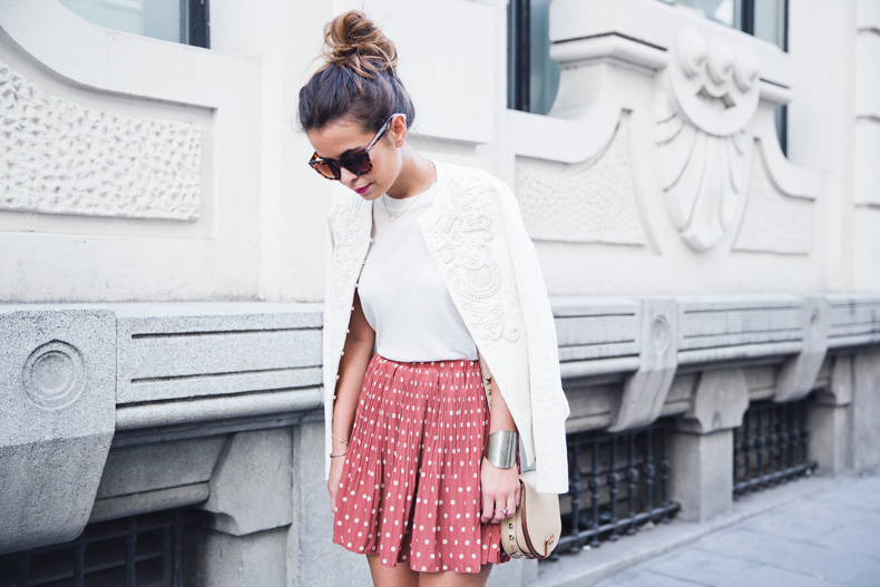 Embroidered_Jacket-Twin_Set-Polka_Dots_Skirt-Alexander_Wang_Sandals-Outfit-Street_Style-32