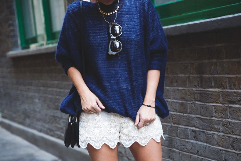 Lace_Shorts-Lace_Up_Sandals-Blue_Jumper-Outfit-17