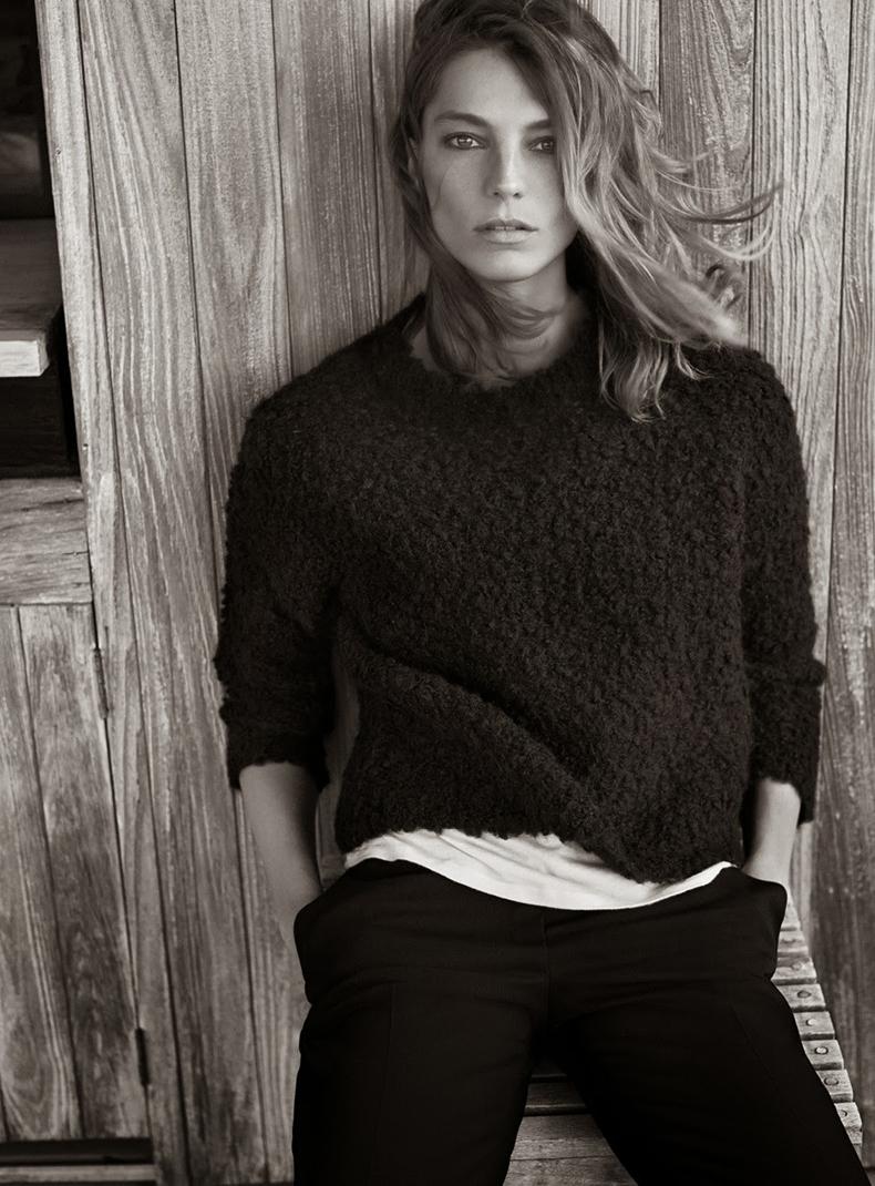Daria Werbowy Shines On Fashion Canada S October 2013: DARIA WERBOWY X MANGO