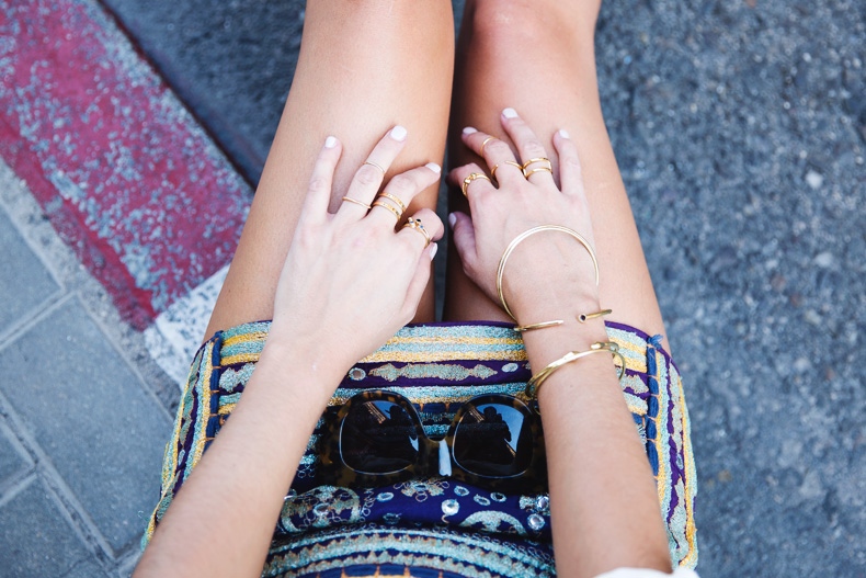 Superga_X_Man_Repeller-Yellow_Sneakers-Beaded_Skirt-Maria_Pascual_jewels-Street_Style-Collagevintage-27