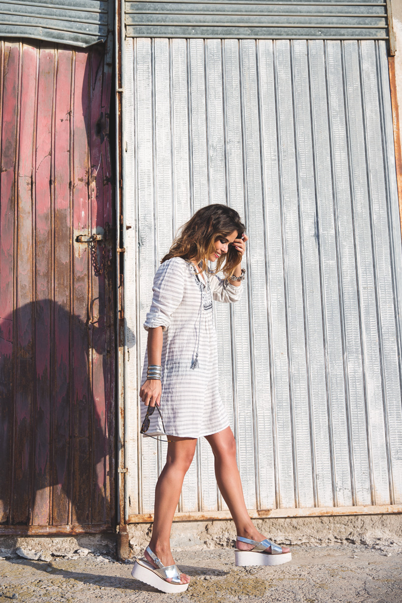 Boho_Dress-Summer-Oysho-Wedges-Silver-Outfit-Street_Style-15