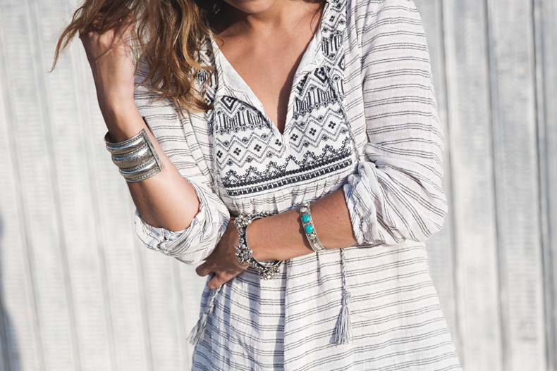 Boho_Dress-Summer-Oysho-Wedges-Silver-Outfit-Street_Style-39