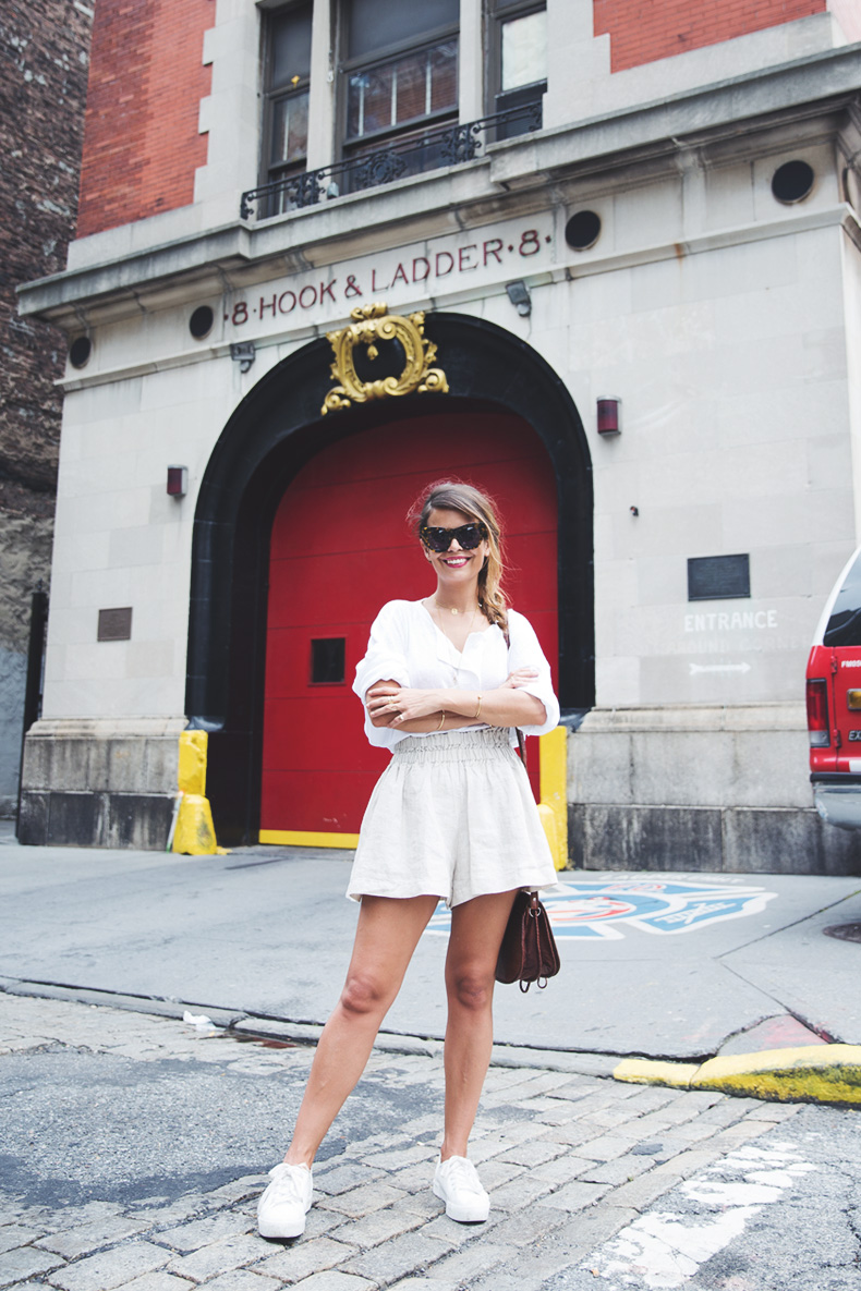 GhostBusters_Firestation-New_York-Shorts-Sneakers-Bersha-Outfit-NYFW-Fishbraid-1