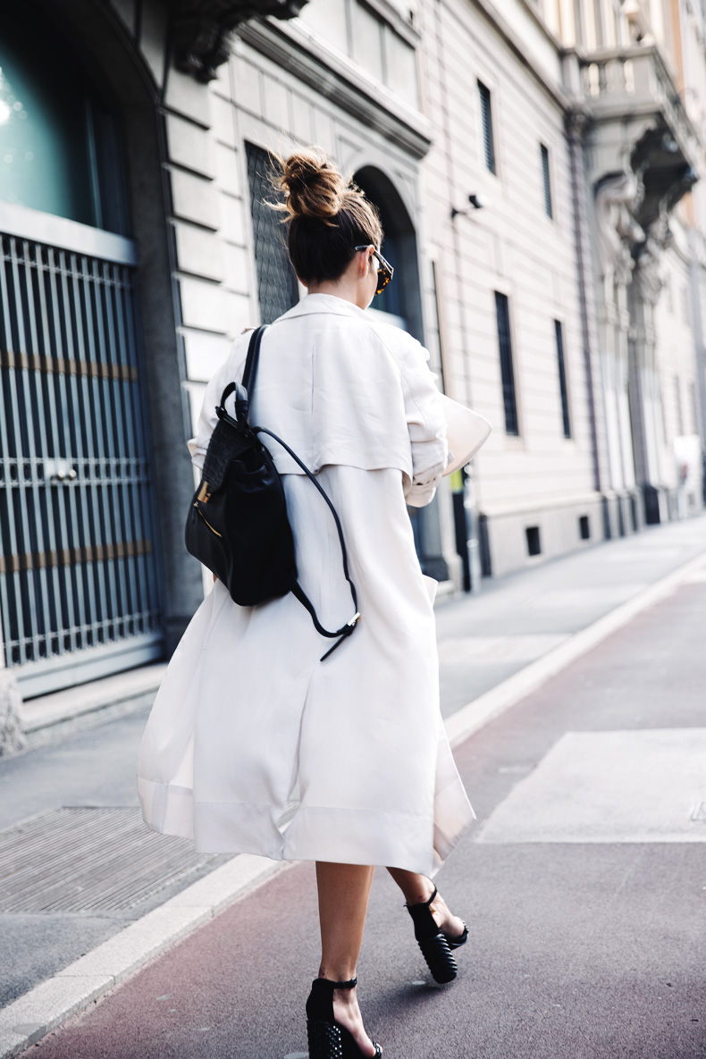Long_Trench_Lingerie_Dress-Studded_Sandals-Reiss_Backpack-MFW-Milan_Fashion_Week-1