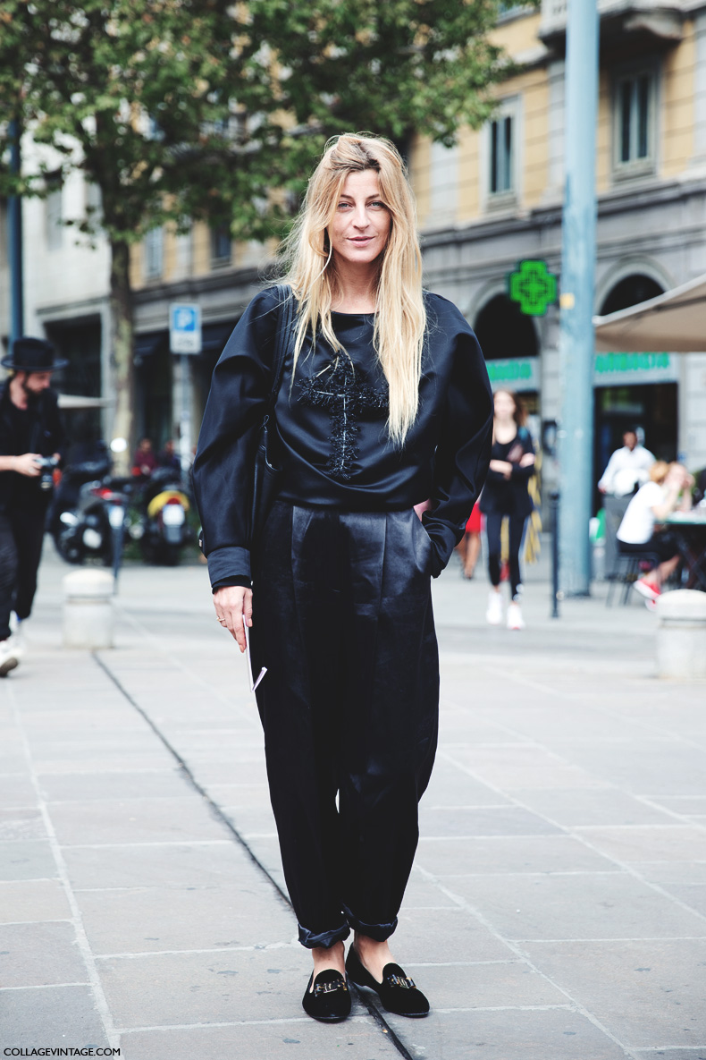 Milan_Fashion_Week_Spring_Summer_15-MFW-Street_Style-Ada_kokosar-Black-Just_Cavali-2