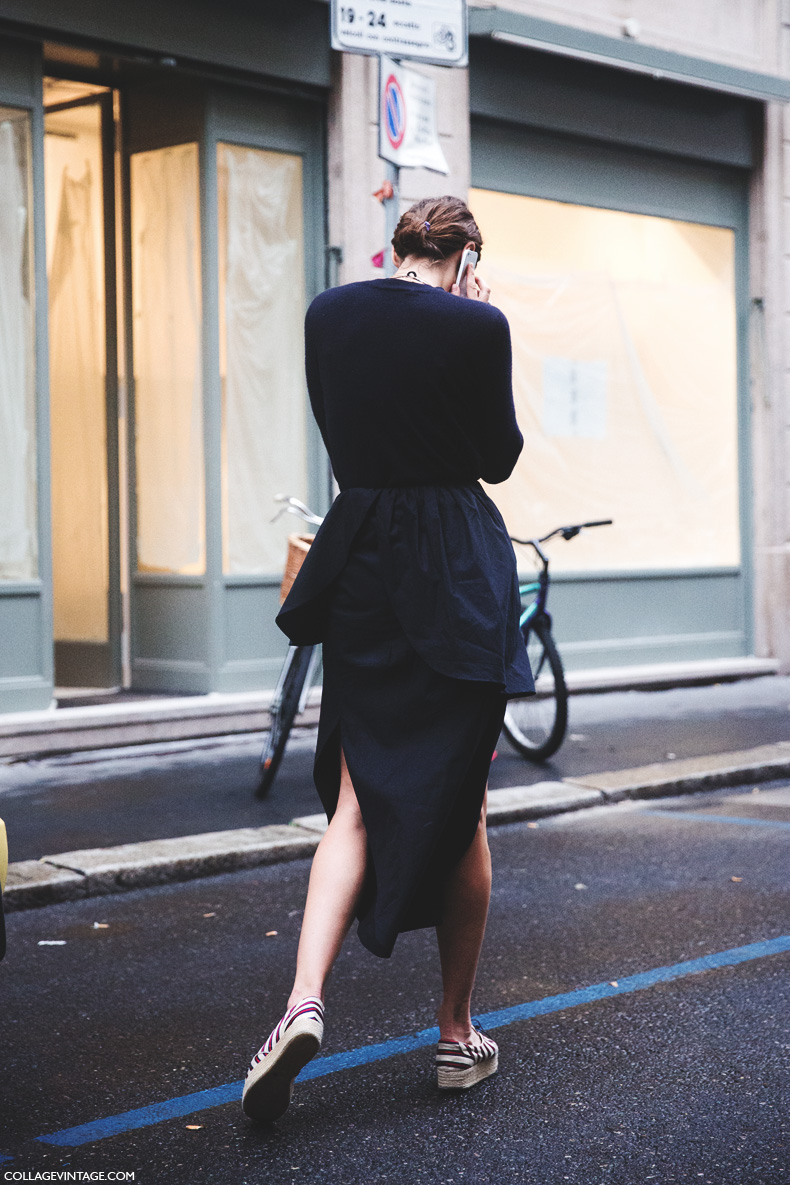 Milan_Fashion_Week_Spring_Summer_15-MFW-Street_Style-Black_Outfit-Espadrilles-
