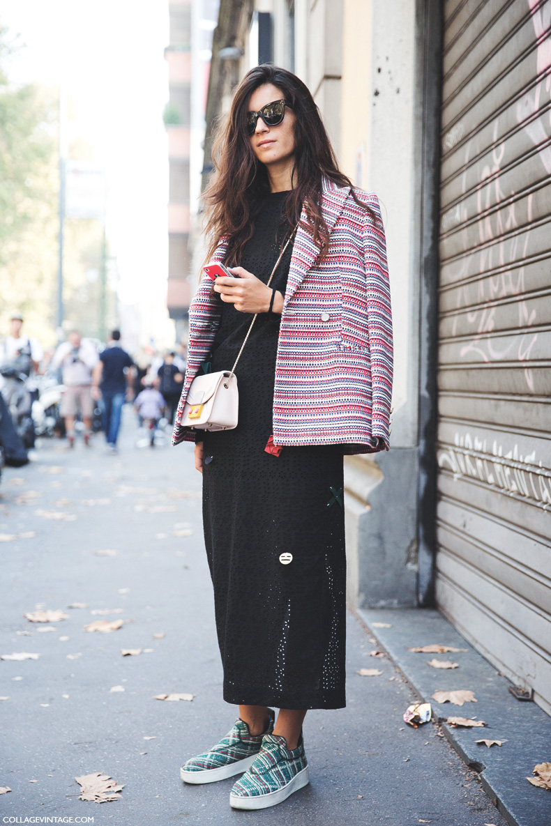 Milan_Fashion_Week_Spring_Summer_15-MFW-Street_Style-Chiara_Totire-Lace_Dress-Celine_Slippers-2