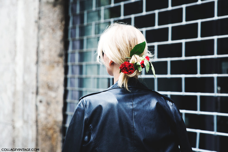 Milan_Fashion_Week_Spring_Summer_15-MFW-Street_Style-Hairdo_Dolce_Gabbana-Flowers-