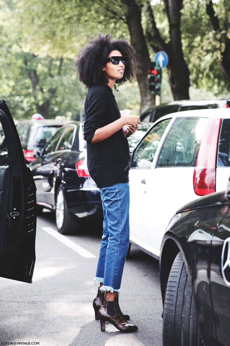 Milan_Fashion_Week_Spring_Summer_15-MFW-Street_Style-Julia_Sarr_Jamois-Louis_Vuitton_Booties-