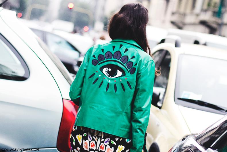 Milan_Fashion_Week_Spring_Summer_15-MFW-Street_Style-Kenzo_Biker-1