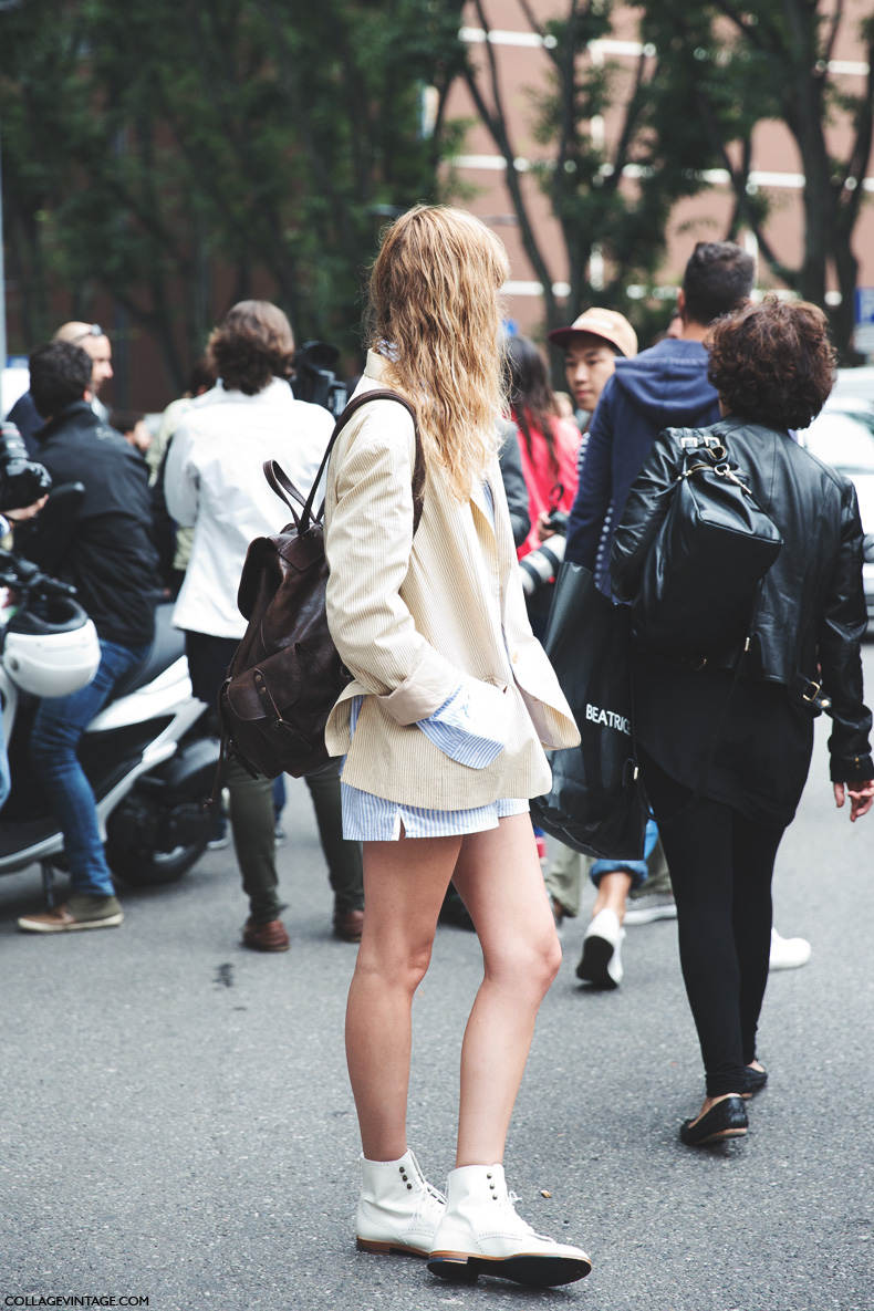 Milan_Fashion_Week_Spring_Summer_15-MFW-Street_Style-stripes-