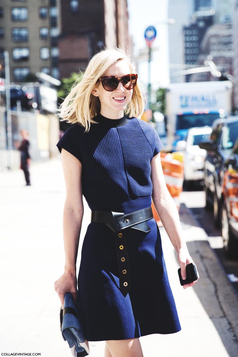 New_York_Fashion_Week_Spring_Summer_15-NYFW-Street_Style-Belted_dress-