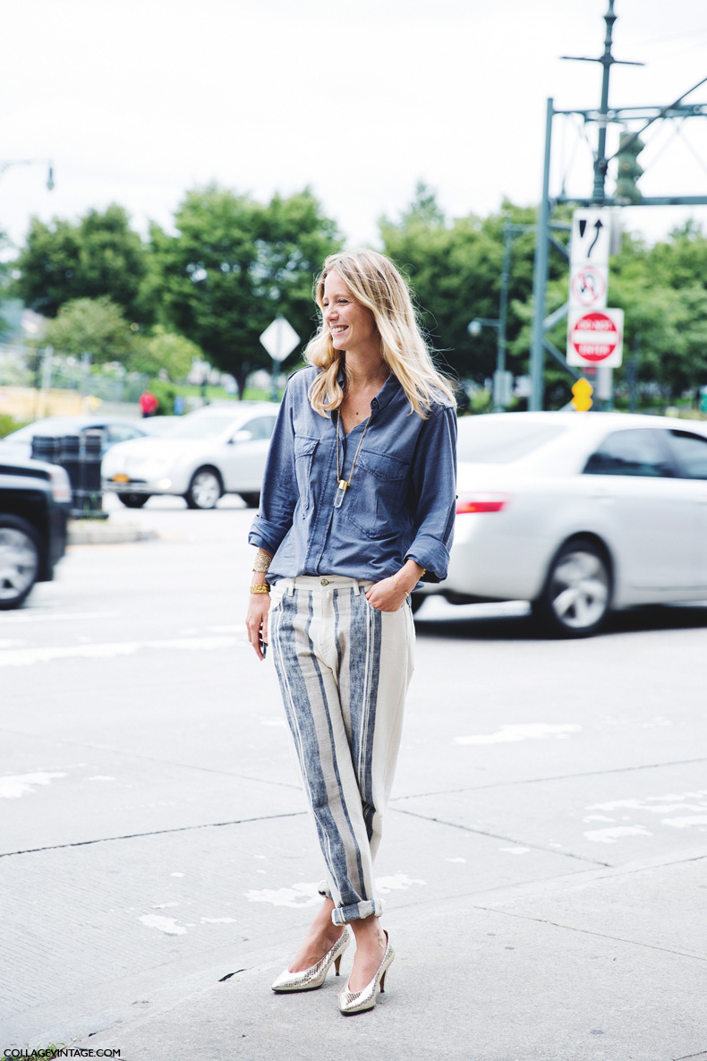 New_York_Fashion_Week_Spring_Summer_15-NYFW-Street_Style-Jennifer_Neyt-Striped_TRousers-2