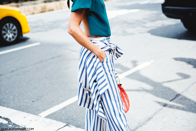 New_York_Fashion_Week_Spring_Summer_15-NYFW-Street_Style-Natalie_Joos-Open_Back-Scarf-Stripes-