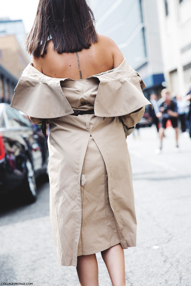 New_York_Fashion_Week_Spring_Summer_15-NYFW-Street_Style-Natasha_Goldenberg-Trench_Coat-Joshua_Sanders-Slippers-3