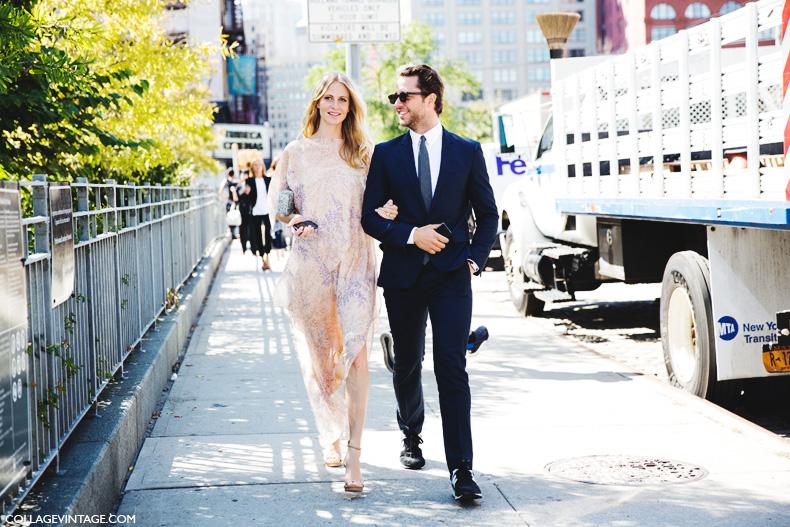 New_York_Fashion_Week_Spring_Summer_15-NYFW-Street_Style-Poppy_Delevingne-Michael_Kors_Dress-