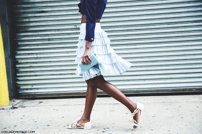 New_York_Fashion_Week_Spring_Summer_15-NYFW-Street_Style-Ruffle_Skirt-1