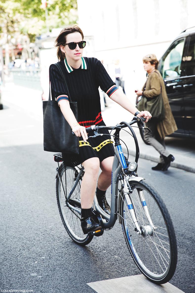 Paris_Fashion_Week_Spring_Summer_15-PFW-Street_Style-Bike-Celine_Dress-