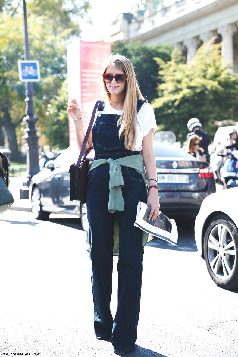 Paris_Fashion_Week_Spring_Summer_15-PFW-Street_Style-Denim_Overall-1