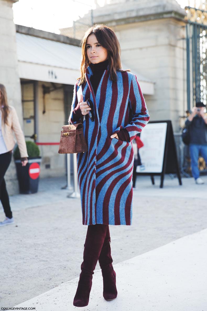 Paris_Fashion_Week_Spring_Summer_15-PFW-Street_Style-Miroslava_Duma-Striped_Coat-3