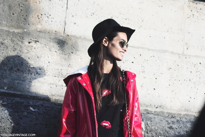 Paris_Fashion_Week_Spring_Summer_15-PFW-Street_Style-Model_nina_Ricci-Hat-Trench_Coat-