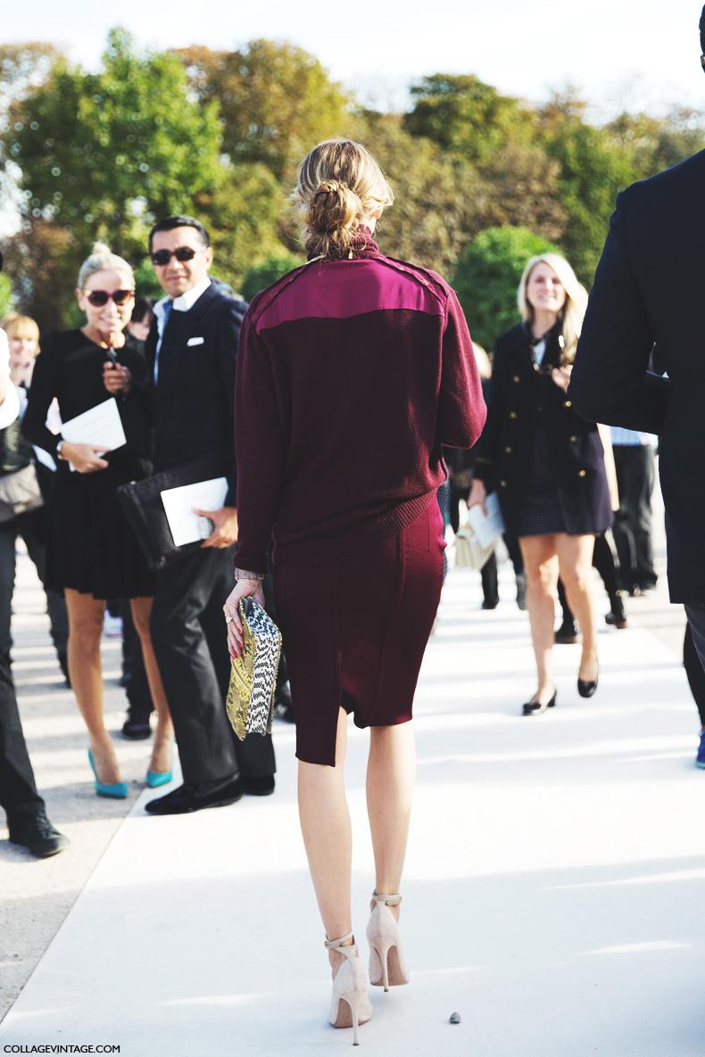 Paris_Fashion_Week_Spring_Summer_15-PFW-Street_Style-Olivia_Palermo-Nina_ricci-Burgundy-Pencil_Skirt-