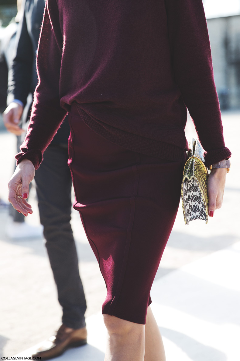 Paris_Fashion_Week_Spring_Summer_15-PFW-Street_Style-Olivia_Palermo-Nina_ricci-Burgundy-Pencil_Skirt-3