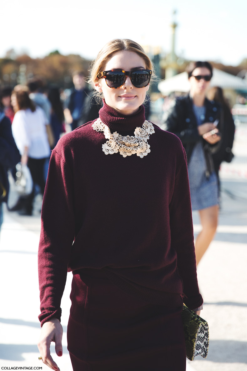 Paris_Fashion_Week_Spring_Summer_15-PFW-Street_Style-Olivia_Palermo-Nina_ricci-Burgundy-Pencil_Skirt-7