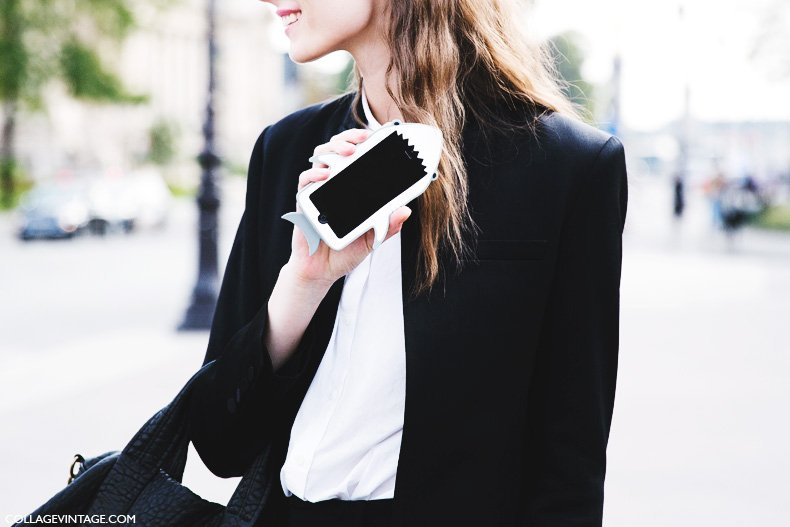 Paris_Fashion_Week_Spring_Summer_15-PFW-Street_Style-Shark_Iphone_Case-