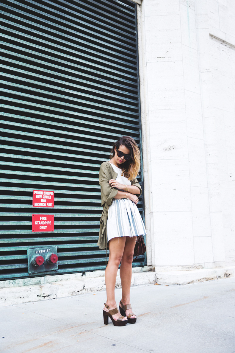 Rebecca_Minkoff_Spring_Summer_15-NYFW-Green_Parka-Striped_Dress-Revolve_Clothing-Green_Sandals-Street_style-Outfit-10