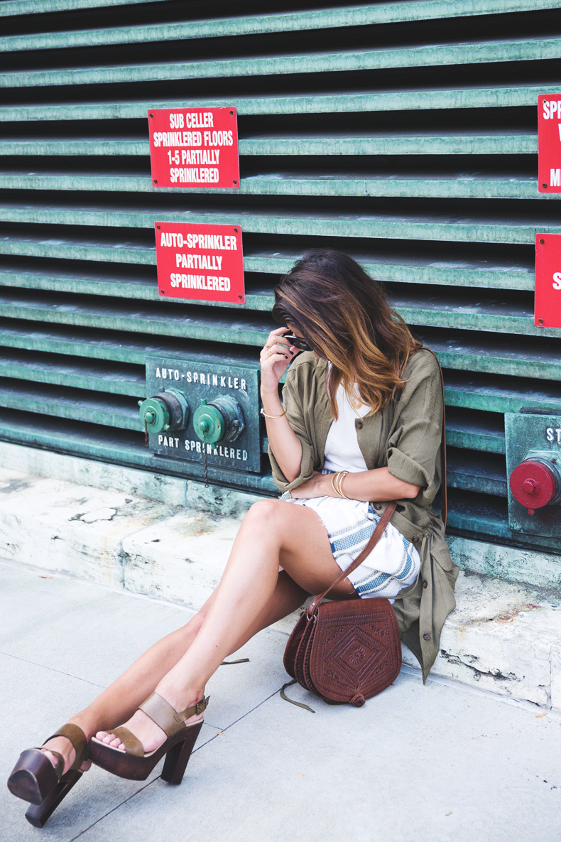 Rebecca_Minkoff_Spring_Summer_15-NYFW-Green_Parka-Striped_Dress-Revolve_Clothing-Green_Sandals-Street_style-Outfit-2