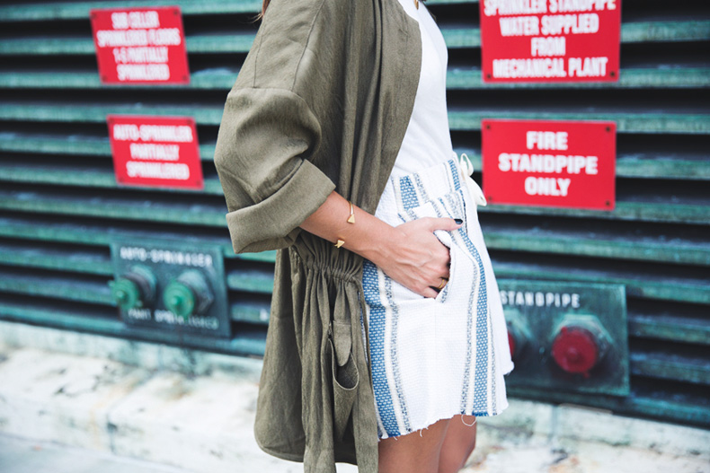 Rebecca_Minkoff_Spring_Summer_15-NYFW-Green_Parka-Striped_Dress-Revolve_Clothing-Green_Sandals-Street_style-Outfit-25