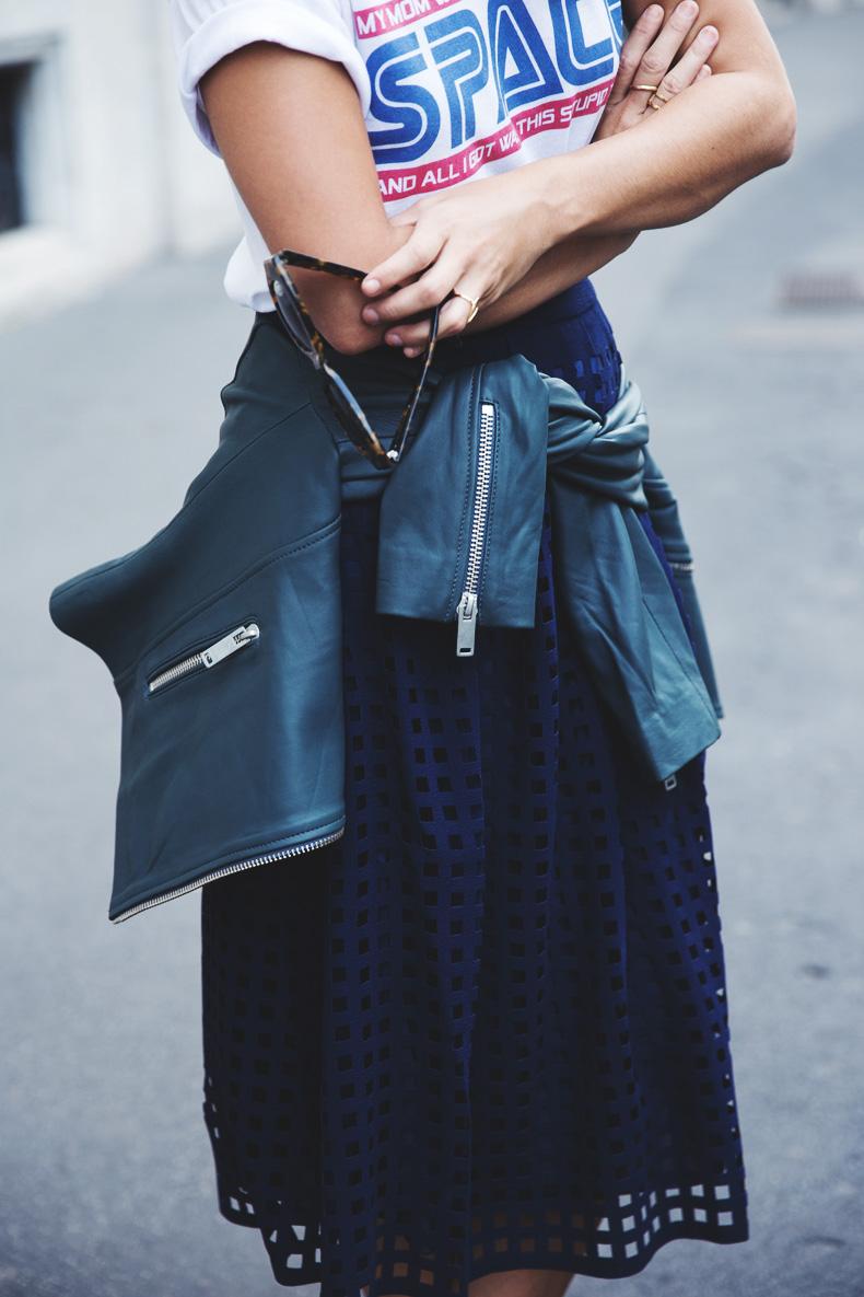 Space_Top-Reiss_Skirt-Midi_Skirt_Trend-Green_Biker-Street_Style-MFW-Milan_Fashion_Week-23