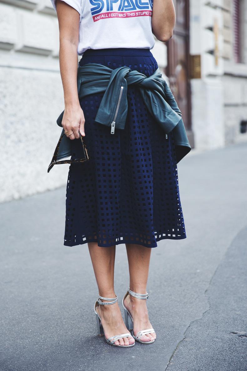 Space_Top-Reiss_Skirt-Midi_Skirt_Trend-Green_Biker-Street_Style-MFW-Milan_Fashion_Week-3