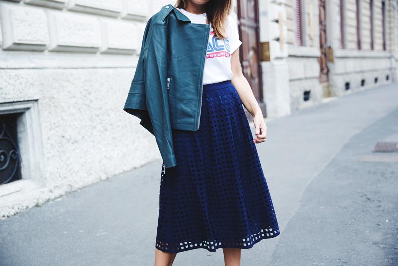 Space_Top-Reiss_Skirt-Midi_Skirt_Trend-Green_Biker-Street_Style-MFW-Milan_Fashion_Week-31