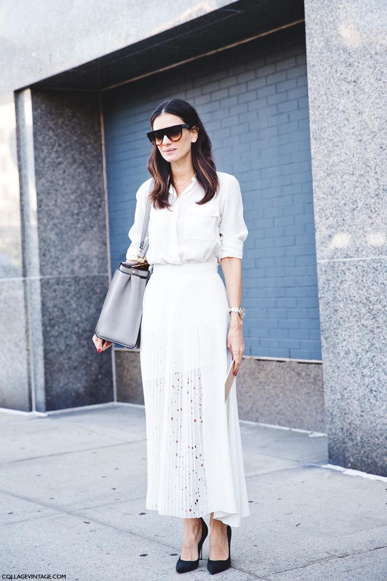 New_York_Fashion_Week_Spring_Summer_15-NYFW-Street_Style-Total_White-Midi_Skirt-Leila_yavari-