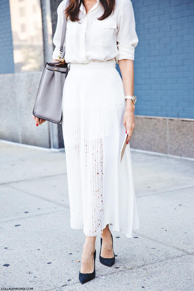 New_York_Fashion_Week_Spring_Summer_15-NYFW-Street_Style-Total_White-Midi_Skirt-Leila_yavari-1