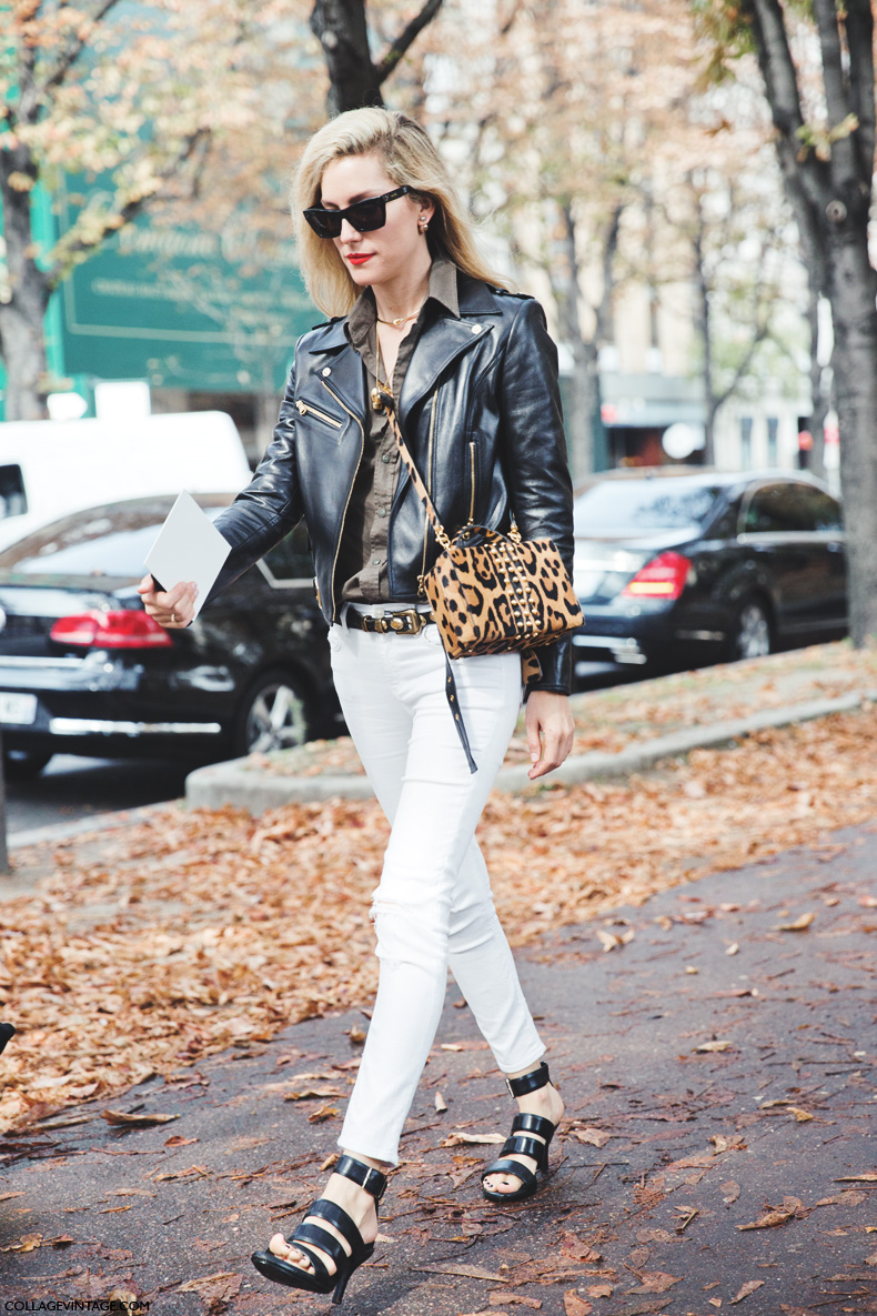 Paris_Fashion_Week_Spring_Summer_15-PFW-Street_Style-Joanna_Hillman-Leopard_Bag-White_Trousers-