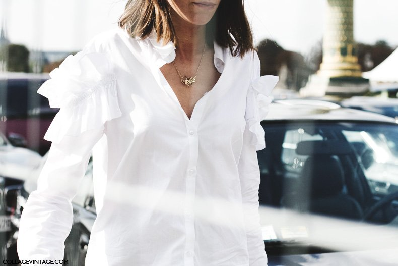 Paris_Fashion_Week_Spring_Summer_15-PFW-Street_Style-Ruffle-White_Shirt-