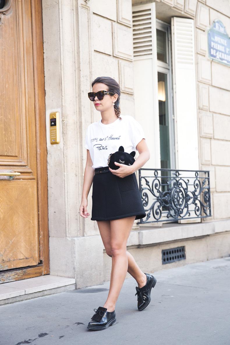 Paris_Top-Black_Mini_Skirt-Reiss_Belt-Bruches-Oxfords-Cat_Bag-Outfit-Street_Style-PFW-9