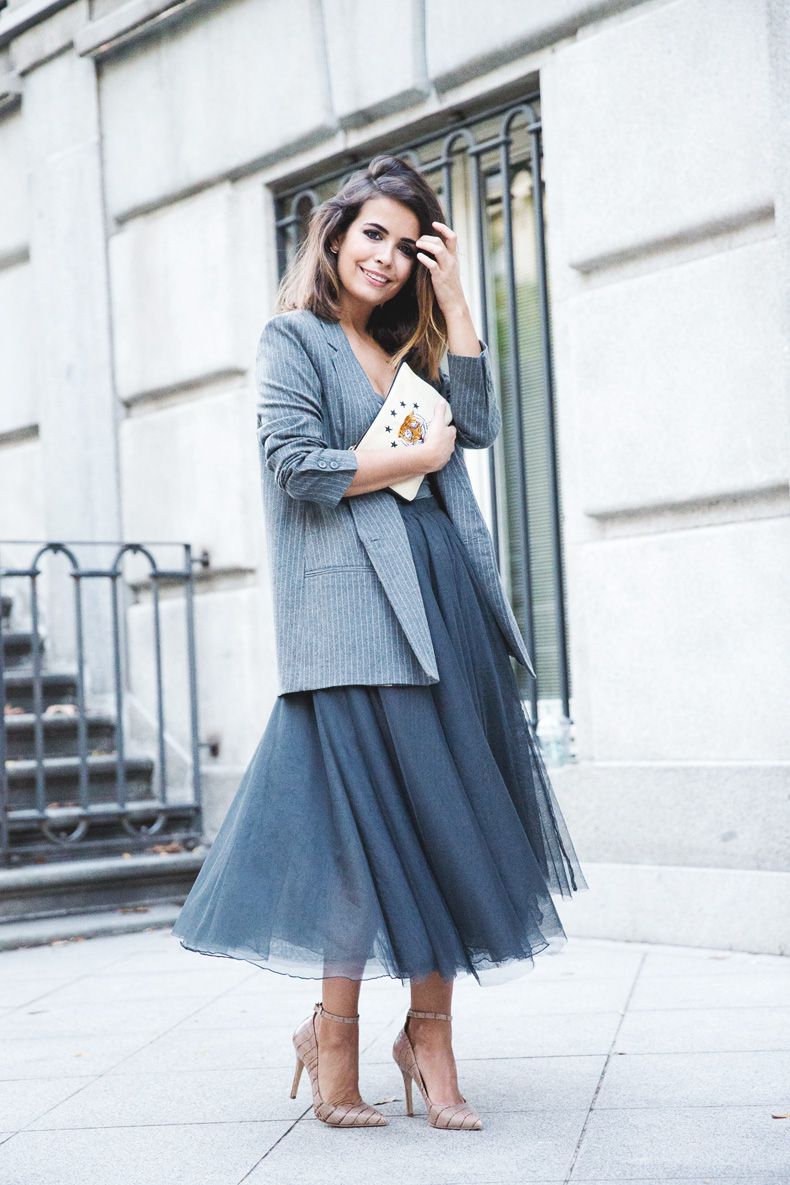 Tulle_Skirt-Twinset-Striped_Blazer-Outfit-Street_Style-Collage_Vintage-57