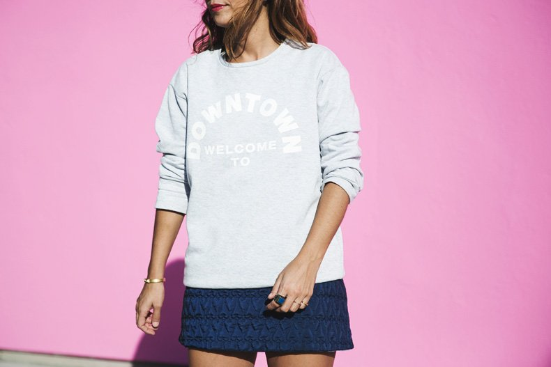 Collage_Vintage_Sweatshirt-Quilted_Skirt-Pink_Wall-Los_Angeles-Outfit-Street_Style-24