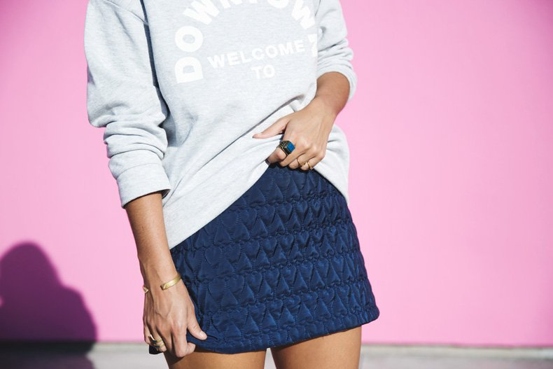 Collage_Vintage_Sweatshirt-Quilted_Skirt-Pink_Wall-Los_Angeles-Outfit-Street_Style-29