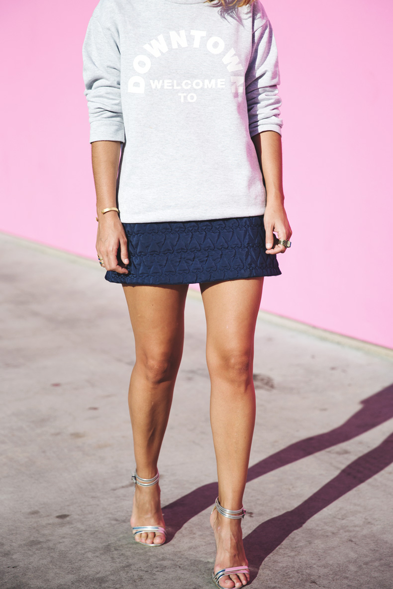 Collage_Vintage_Sweatshirt-Quilted_Skirt-Pink_Wall-Los_Angeles-Outfit-Street_Style-3