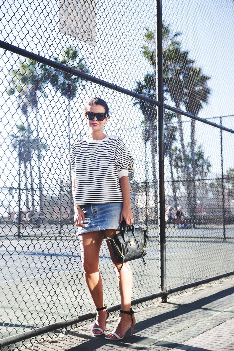 Venice_Beach-Striped_SweatShirt-Denim_Skirt-Revolve_Clothing-Outfit-Street_Style-11
