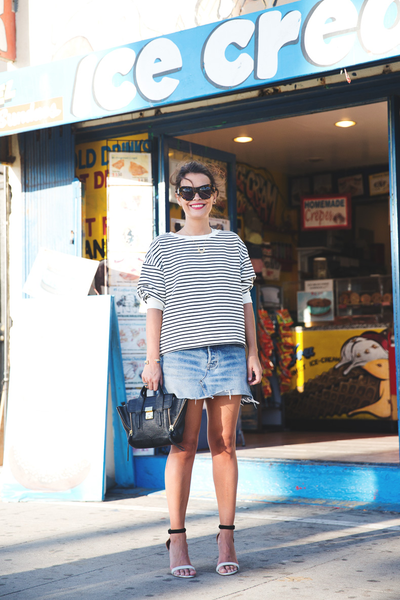 Venice_Beach-Striped_SweatShirt-Denim_Skirt-Revolve_Clothing-Outfit-Street_Style-6